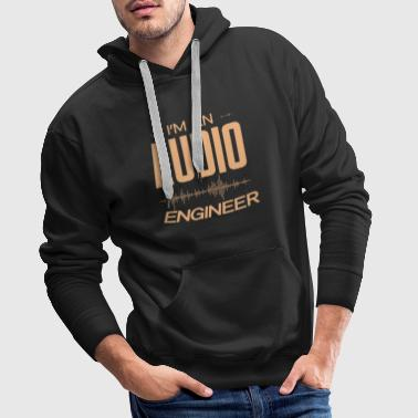 sound engineer - Men's Premium Hoodie