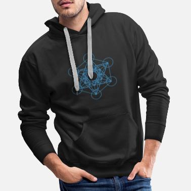 Truth Metatron's Cube 17 - Men's Premium Hoodie