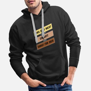 Prayer do not worry 2 - Men's Premium Hoodie