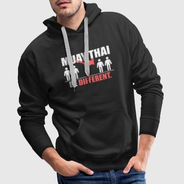 Muay Thai Shirt - Be Different - Männer Premium Hoodie