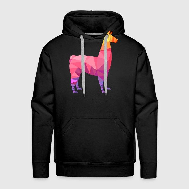 Llama Low Poly | Cool Geometric Design von yakoazon | Spreadshirt