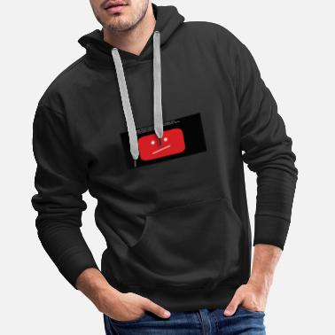 Youtube youtube - Sweat-shirt à capuche Premium pour hommes