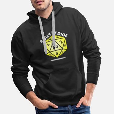 Roll The Dice Roll the DICE - Men's Premium Hoodie