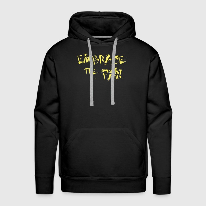 Sport - Training - Motto - Men's Premium Hoodie