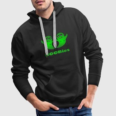 Ghost Lover Halloween Ghosts BOOBies BREAST Design - Men's Premium Hoodie