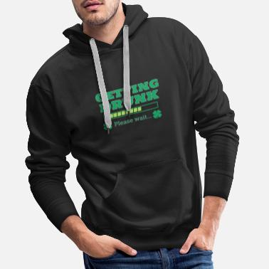 St-patricks-day St. Patrick's Day St. Patrick's Irish holiday - Men's Premium Hoodie