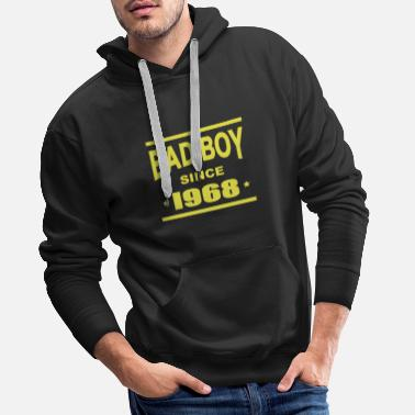 Since Bad boy since 1968 - Felpa con cappuccio premium da uomo