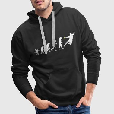 Handball Evolution - Handballer - Handball love - Men's Premium Hoodie