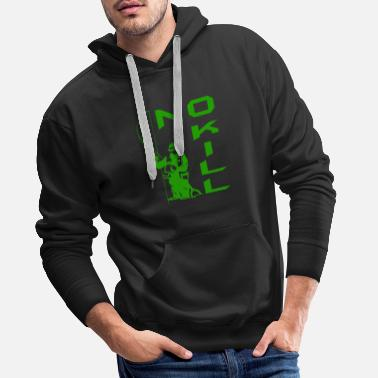 Kill NO KILL 3 - Sweat-shirt à capuche Premium pour hommes
