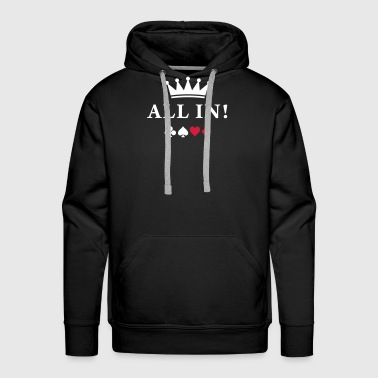 all_in Tee shirts - Sweat-shirt à capuche Premium pour hommes