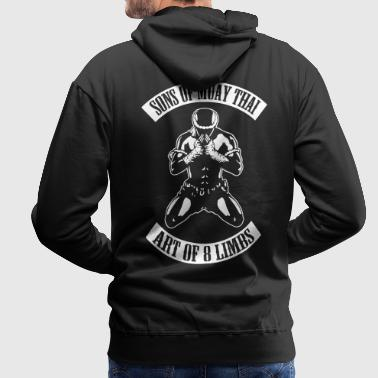 sons_of_muay_thai - Sweat-shirt à capuche Premium pour hommes