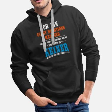 Relation Guest - Relations - Manager Beruf - Männer Premium Hoodie