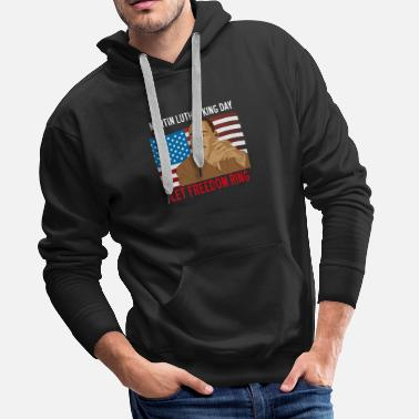 Martin Luther King martin luther king day - Men's Premium Hoodie