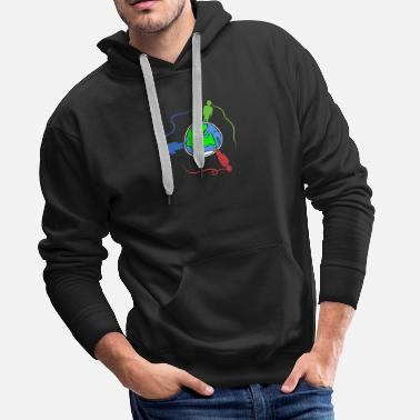 Global globalization - Men's Premium Hoodie
