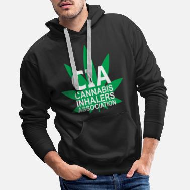 Association Cannabis Inhalers Association - Men's Premium Hoodie