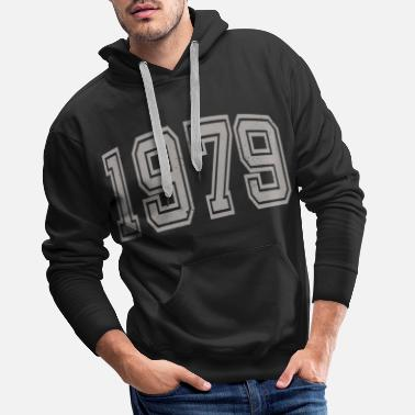 College Style 1979 college style - Men's Premium Hoodie