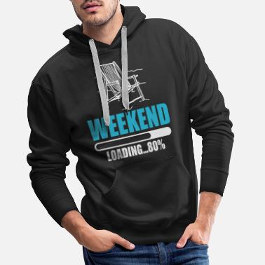 Weekend weekend - Sweat à capuche premium Homme