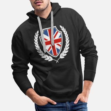 British Great Britain British national colors origin - Men's Premium Hoodie