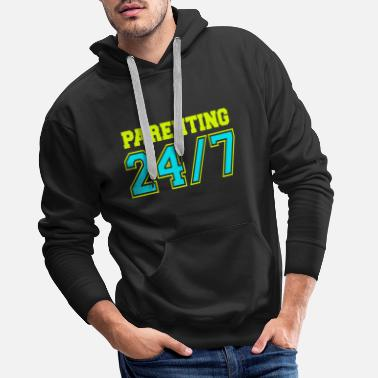 Parents New Parent Parenting 247 4000x4000 - Men's Premium Hoodie