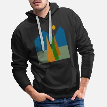 Abstract nature, Abstract nature. - Men's Premium Hoodie