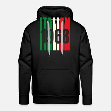 1968 50 Anni Regalo Italiano Maglietta Premium Uomo Spreadshirt