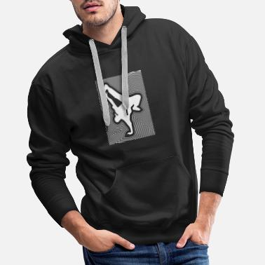 B-boy B-Boy Freeze - Men's Premium Hoodie