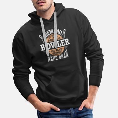 Nine Bowlers are perfect - bowling, bowling, gift - Men's Premium Hoodie