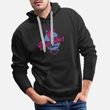 Superstar Dusseldorf Superstar T-shirt voor Ddorf Superstars - Mannen premium hoodie