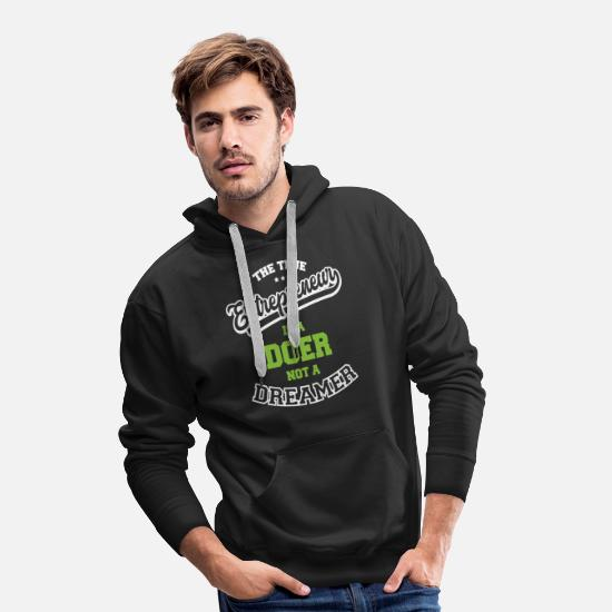 Dreamy Hoodies & Sweatshirts - Entrepreneur - Men's Premium Hoodie black