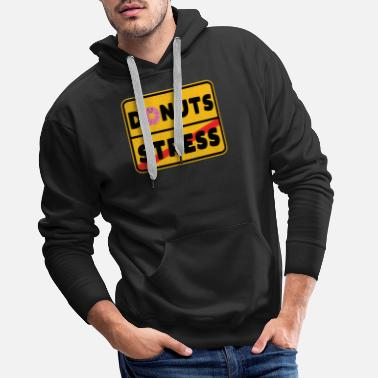 Pay Pie street sign cake pie food math gift - Men's Premium Hoodie