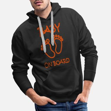 Baby On Board Baby on board - Men's Premium Hoodie