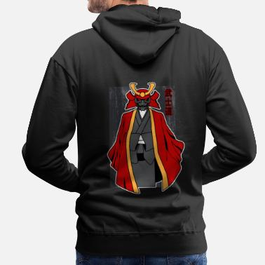 Samurai Warrior Anime - Men's Premium Hoodie