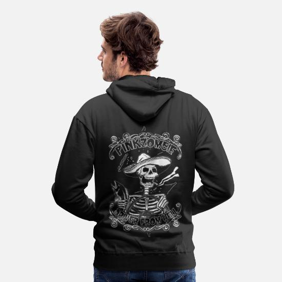Biker Sweat-shirts - Driver from hell - Sweat à capuche premium Homme noir