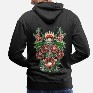 Folklore ornament - Men's Premium Hoodie