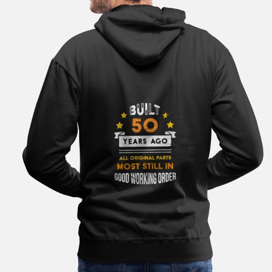 50th Anniversaire Cadeau Édition Limitée 1969 Original Homme Femme Hoody Sweat à capuche