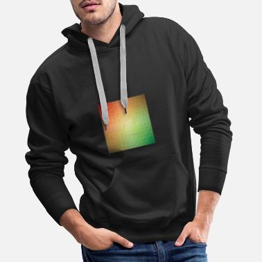 Polygon pattern - Men's Premium Hoodie