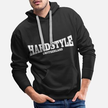 Hardstyle Switzerland - Men's Premium Hoodie