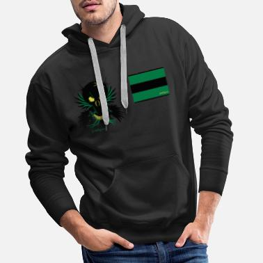 Shopping legionaire old flag_vec_3 en - Men's Premium Hoodie