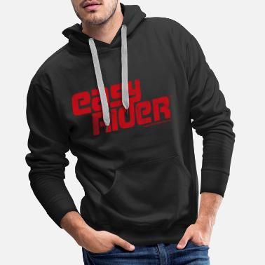 Easy Rider Logo Distressed - Men's Premium Hoodie