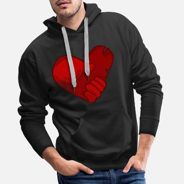 Conceited Heart conceit design - Men's Premium Hoodie