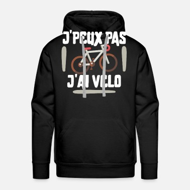 Jpeux Pas v/élo Humour Cycliste Sweat-Shirt Homme