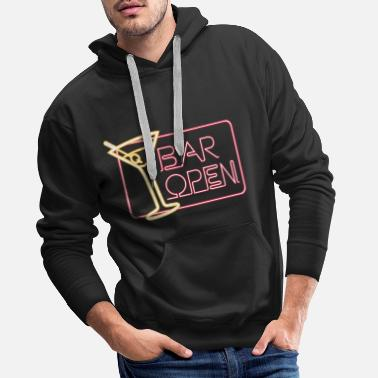 Open Bar Open - Sweat à capuche premium Homme
