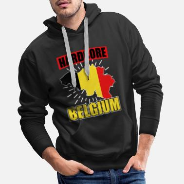 National Colours Belgium nationality national colors - Men's Premium Hoodie