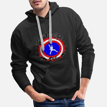America captain america scooter 100% customizable - Men's Premium Hoodie