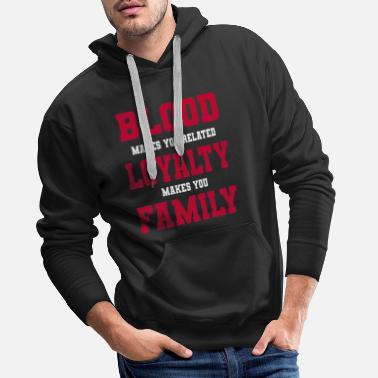 Family Values Family Family reunification Family values - Men's Premium Hoodie