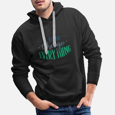 Junior Teacher Teaching Graduate Trainee Motivation - Men's Premium Hoodie