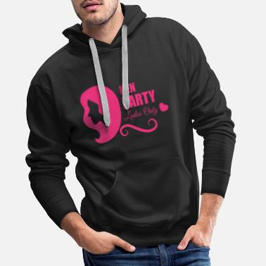 Hen Night Bachelorette Parties, Hen Nights, Hen Party - Sweat à capuche premium Homme
