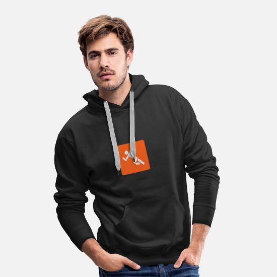 World Championship Hoodies & Sweatshirts - Athletics - Running - Jumping - Throwing - Men's Premium Hoodie black
