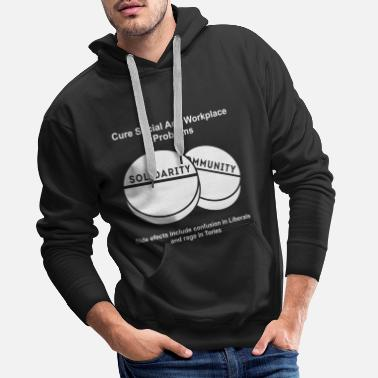 Community Community Solidarity Graphic - Men's Premium Hoodie