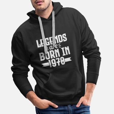 Born in 1970 - Men's Premium Hoodie